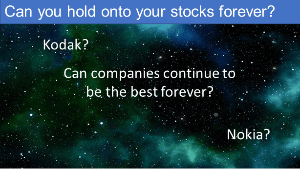 Can you hold onto a stock forever?