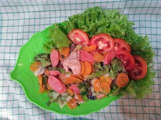 Capjay sayuran dari Telaga Sarangan
