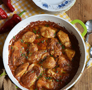 Piletina-pikantan_sos-kikiriki-ručak-jelo-hrana-recepti-glavna_jela