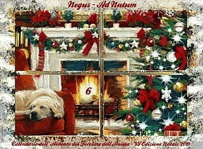 6 dicembre - Calendario dell'Avvento - Natale 2019