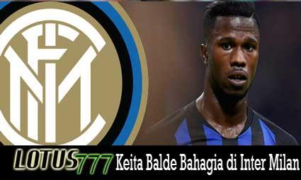 Keita Balde Bahagia di Inter Milan