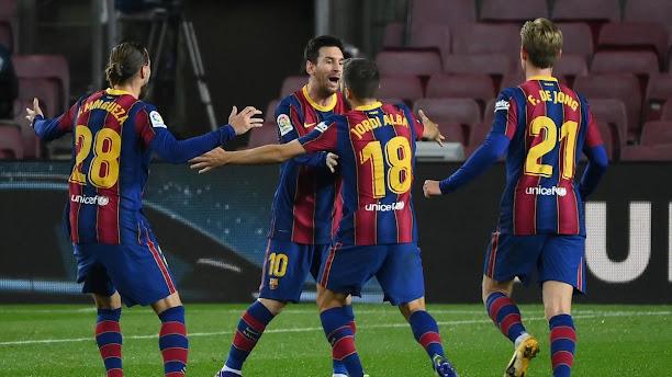 مشاهدة ملخص اهداف مباراة برشلونة وريال سوسيداد (2-1) في الدوري الاسباني