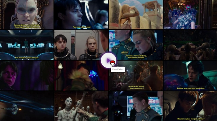 Screenshots Download Film Gratis Valerian and the City of a Thousand Planets (2017) BluRay 480p MP4 Subtitle Indonesia 3GP Free Full Movie Streaming Hardsub Nempel