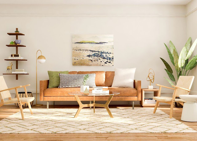 Tips to Create Mid Century Modern Living Room