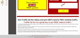 Gambar Screenshot TrafficAdBar