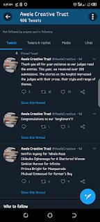 Awele Creative Trust Shortlist 2021