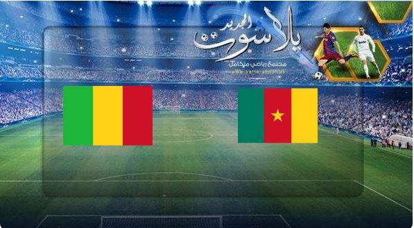 نتيجة مباراة الكاميرون ومالي بتاريخ 14-06-2019 مباراة ودية