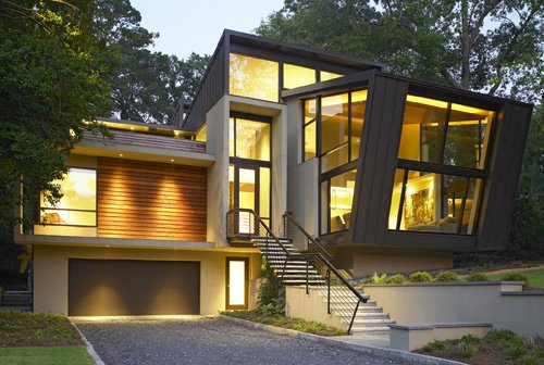 Modern home minimalist modern home minimalist for Contemporary home builders wisconsin