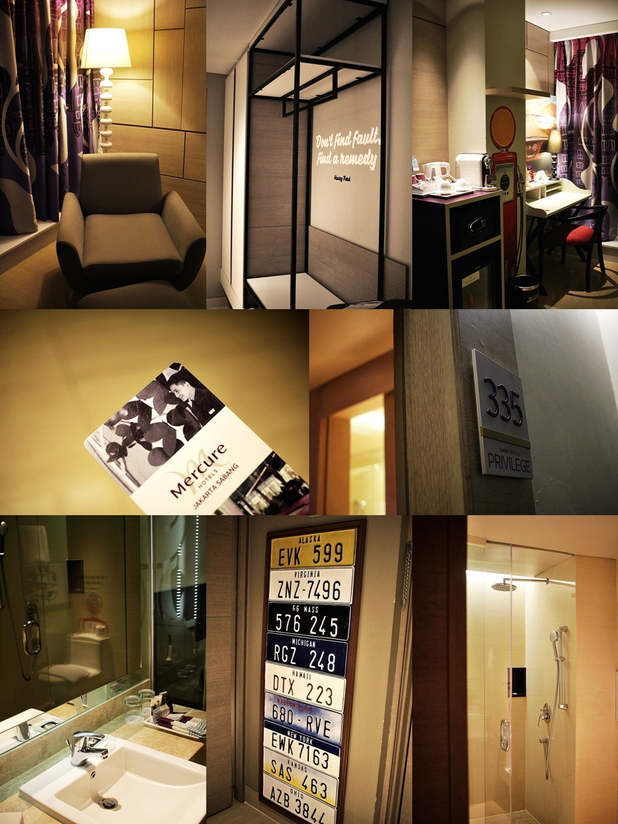 mercure hotel room design jakarta