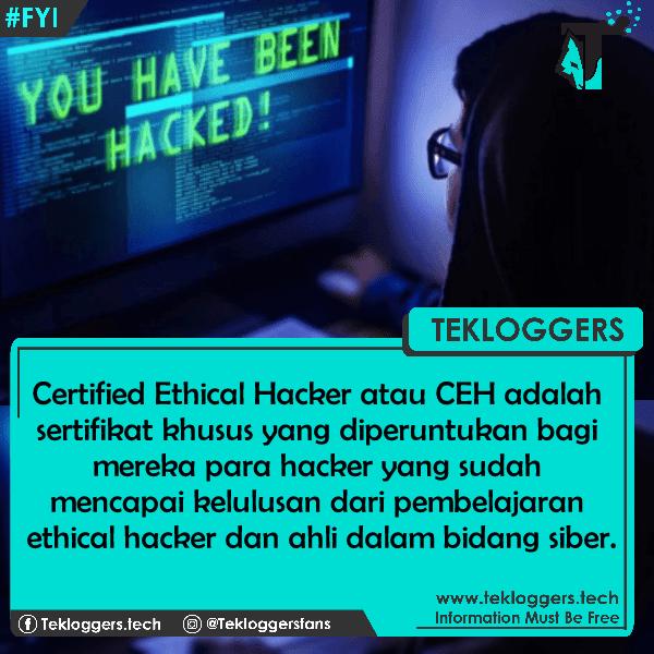 Sertifikasi Hacker CEH (Certified Ethical Hacker)