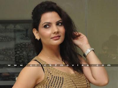Madhavi Sharma Hot Stills in Sofa