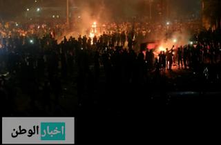 الآلاف في الاحتجاجات الدموية في جميع أنحاء العراق ، 42 قتيلاً