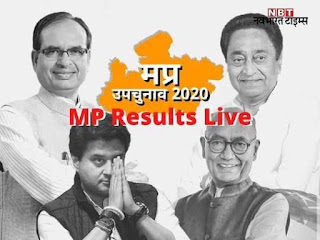 MP by election result 2020 live