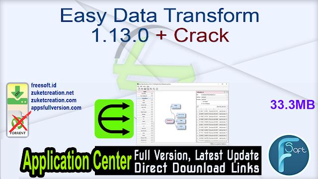 Easy Data Transform 1.13.0 + Crack