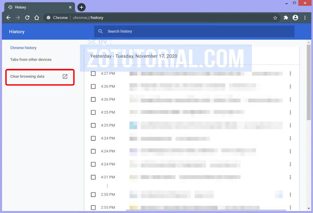 3 Cara Membersihkan Cache, History, Cookies Browser Chrome/Mozilla/Opera