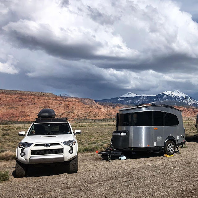 Tiny Trailer Camping, Airstream Basecamp