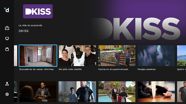 DKISS app para Android TV