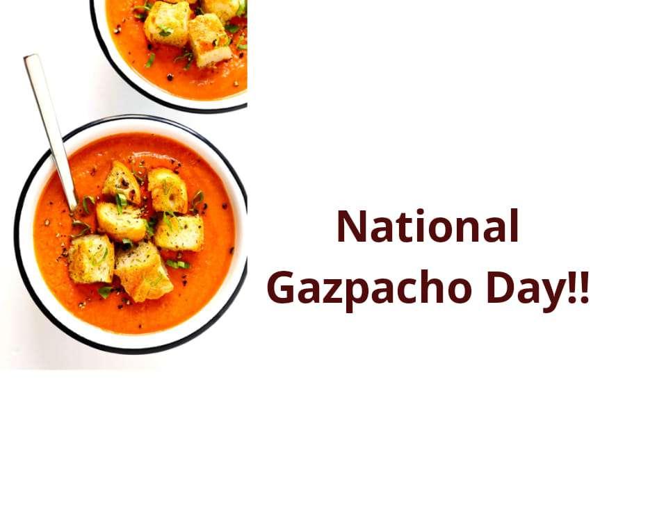 National Gazpacho Day Wishes Pics