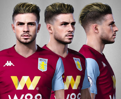 PES 2020 Faces Jack Grealish by Alief