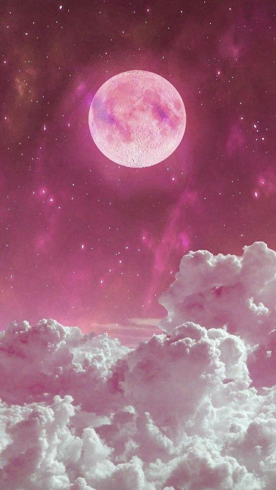Papel de Parede Noite Lindo Luar