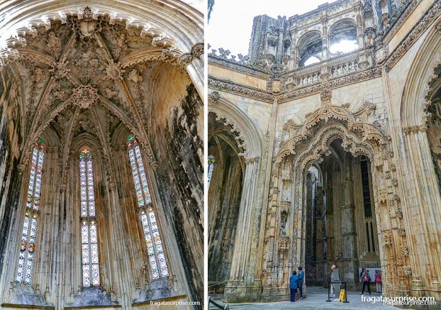 Capelas Imperfeitas do Mosteiro da Batalha, Portugal