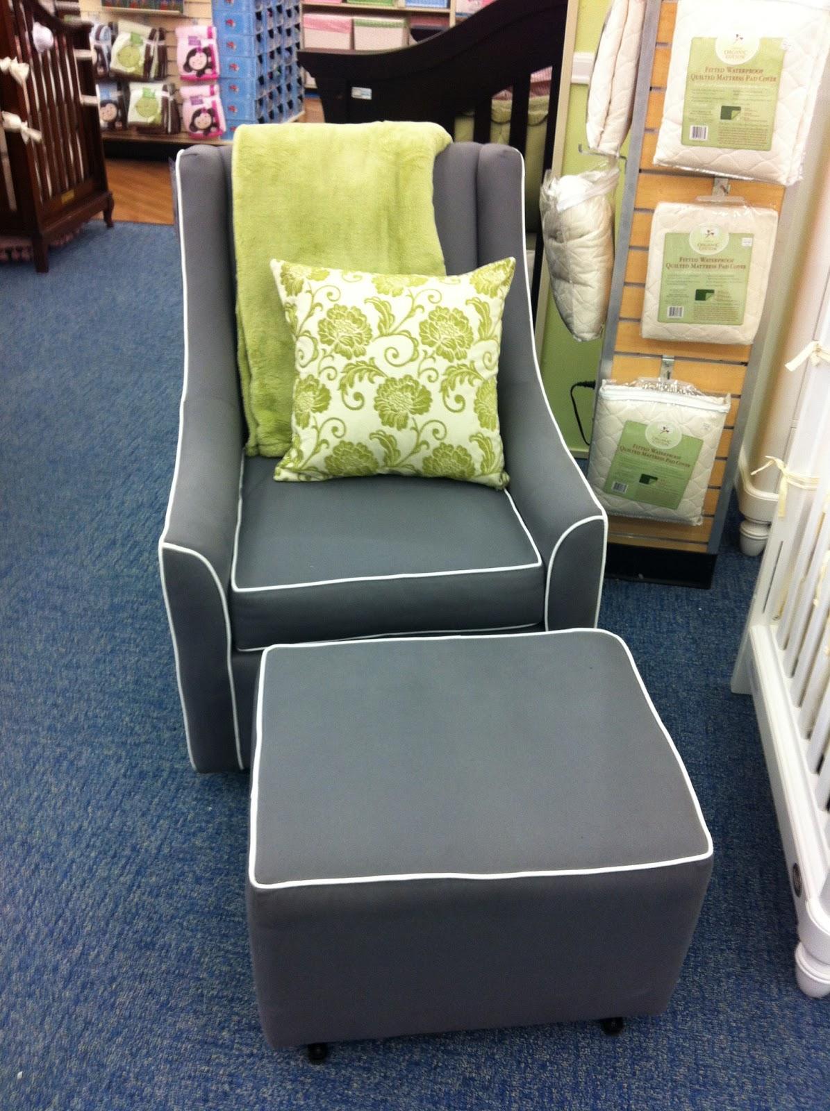 Brilliant Nursery Glider The Bump Evergreenethics Interior Chair Design Evergreenethicsorg