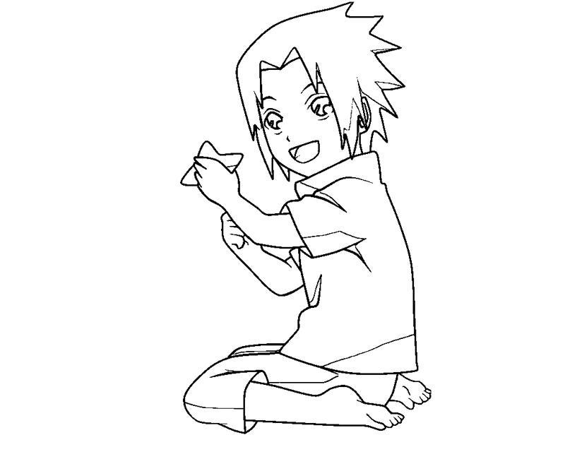 sasuke uchiha coloring pages - photo#23