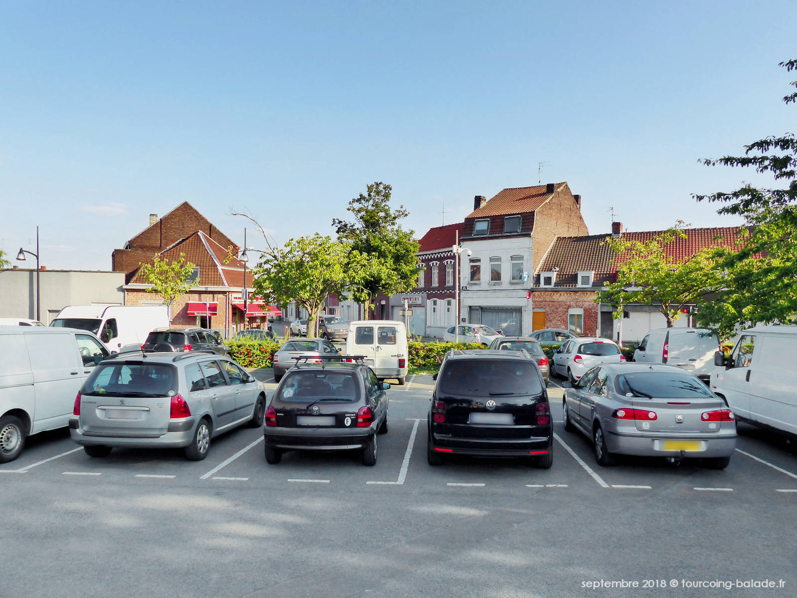 Parking Place Albert Thomas, Tourcoing