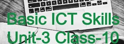 Basic-ICT-Skills-Unit-3-Class-10-IT(402)