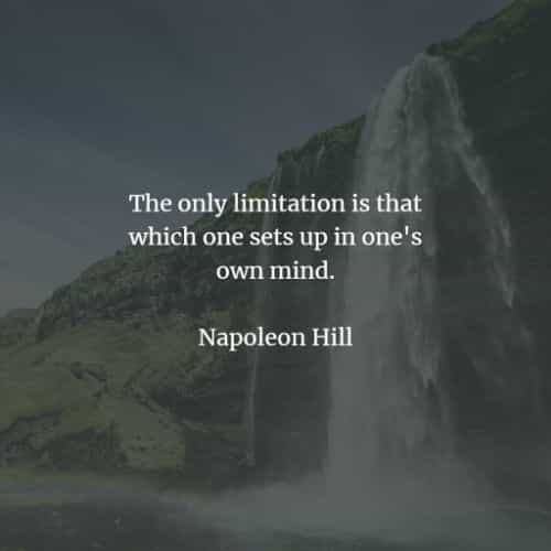 Famous quotes and sayings by Napoleon Hill