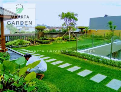 Jasa Pembuatan Taman Atap - Tukang Rumput Bogor