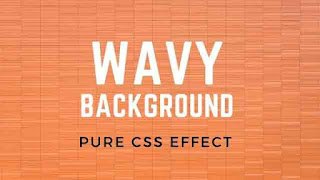 How to Create Wavy Background | Pure CSS Tutorial