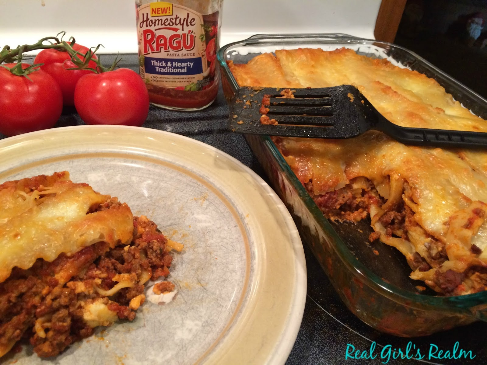 ... : Celebrating Mom with Homestyle Lasagna - Featuring Ragu Pasta Sauce