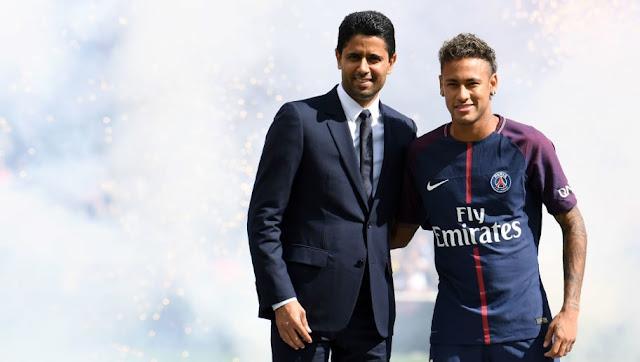 Nasser Al-Khelaïfi a changé d'avis pour Neymar