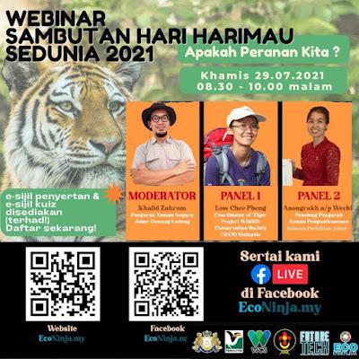 tiger day, tiger day 2021 tiger day celebration,  econinjamy, International Tiger Day, tarikh sambutan hari harimau sedunia 29 julai 2021