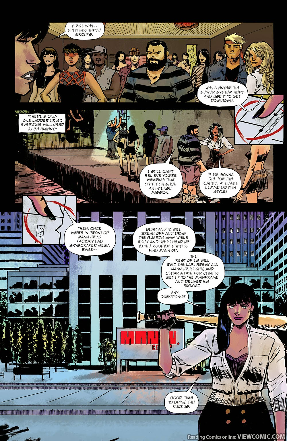 Burn the Orphanage – Reign of Terror 004 (2014) | Viewcomic