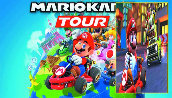 لعبة Mario Kart  متاحة الآن لأجهزة Android و iso
