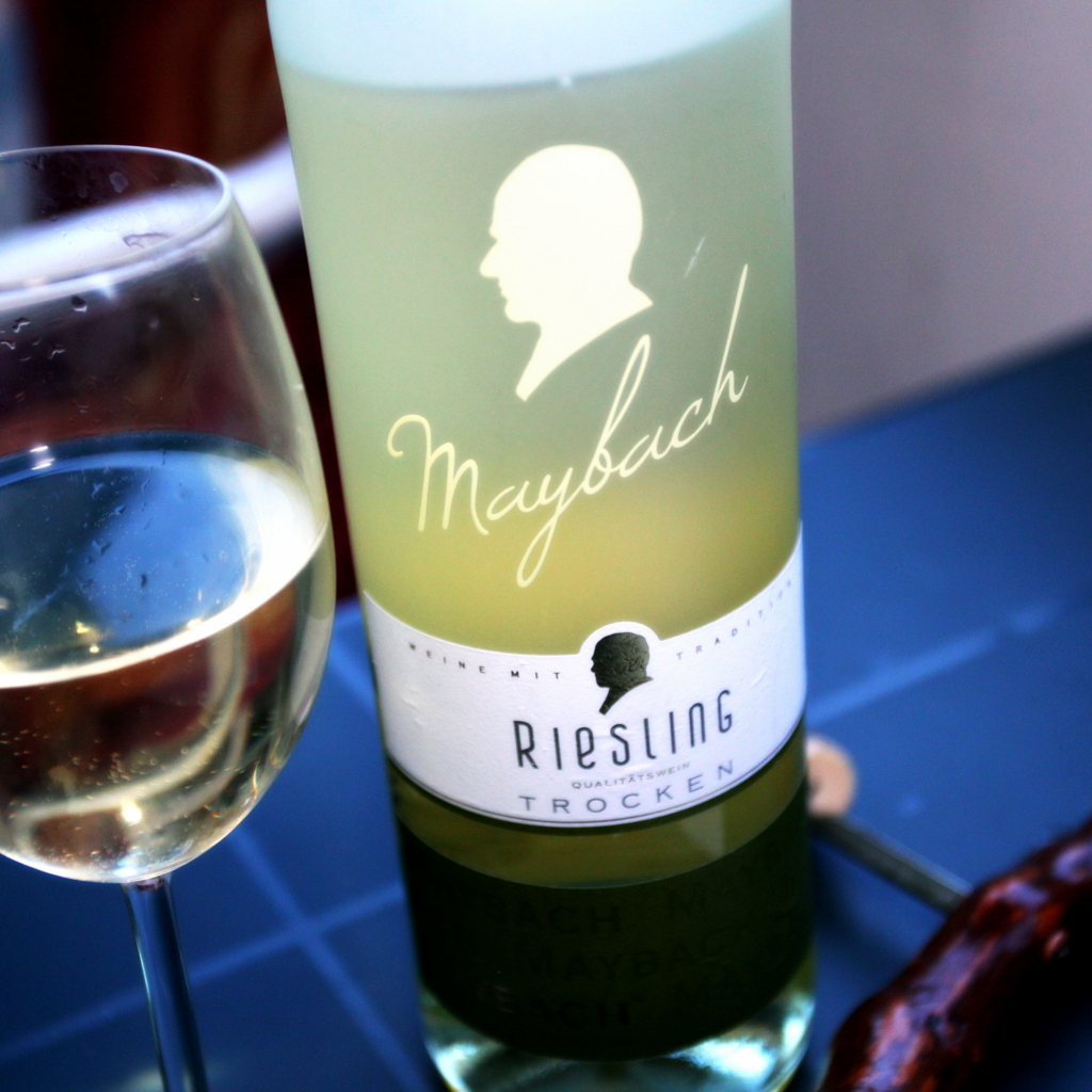 weindeuter: maybach riesling