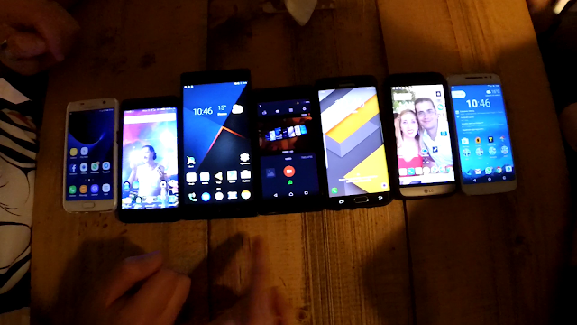 Smartphones vecchia generazione