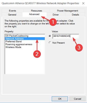 How to change windows MAC address with device manager & software