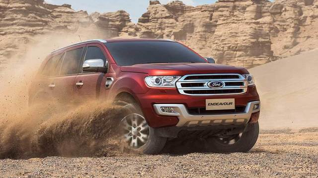 2018 Ford Endeavour Powertrain