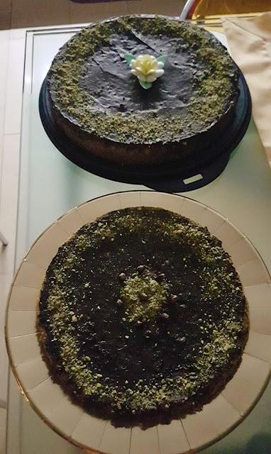 ricetta torta al pistacchio di Bronte