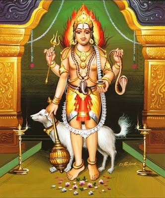 Bhairava - Vairavar form of Hindu God Shiva
