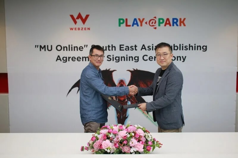PlayPark and Webzen Inks Partnership to Bring MU Back to SEA.