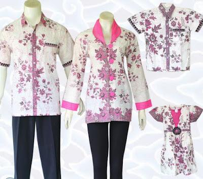 model baju batik keluarga terbaru