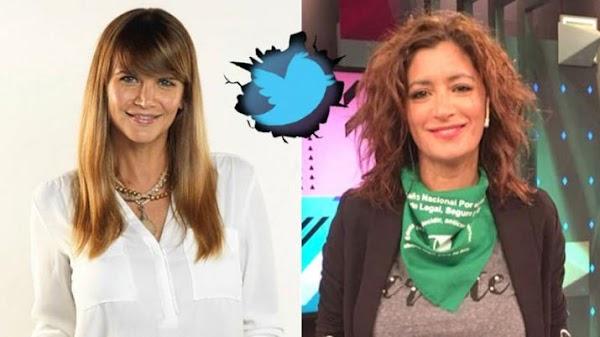 Fuerte cruce twittero entre Amalia Granata y Carla Conte por la legalización del aborto