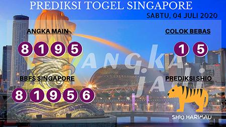 Prediksi Angka Jadi SGP Singapura Sabtu