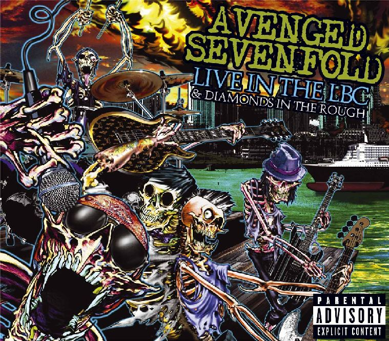 Avenged Sevenfold - Diamond In The Rough [FLAC] ~ B-Town
