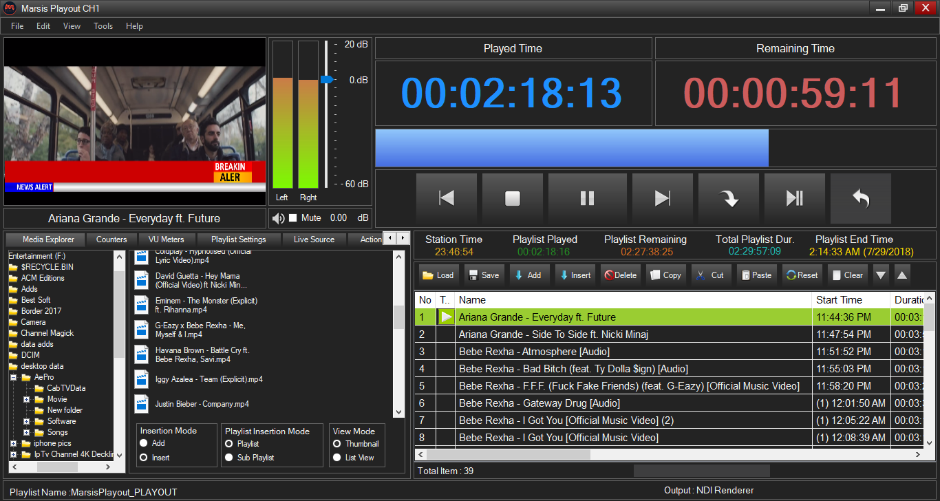 Marsis Playout 3.1.3 Crack+Keygen