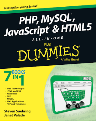 كتاب php mysql javascript & html All in One For Dummies